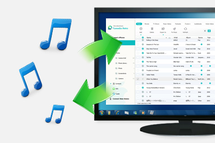 Wondershare TunesGo Retro (Windows Version) Screenshot
