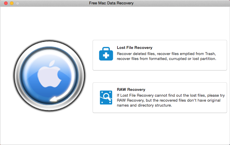 Easy and powerful free data recovery software for Mac