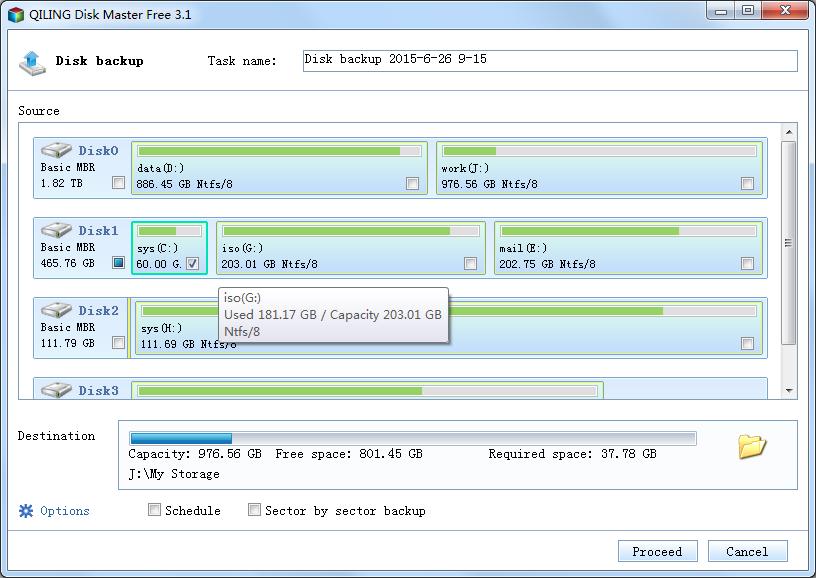 QILING Disk Master Free Screenshot 4