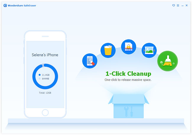 Wondershare SafeEraser Screenshot