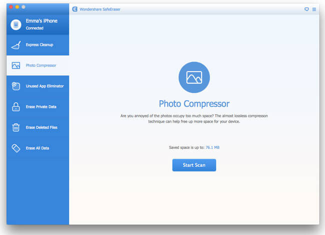 Wondershare SafeEraser for Mac Screenshot 6