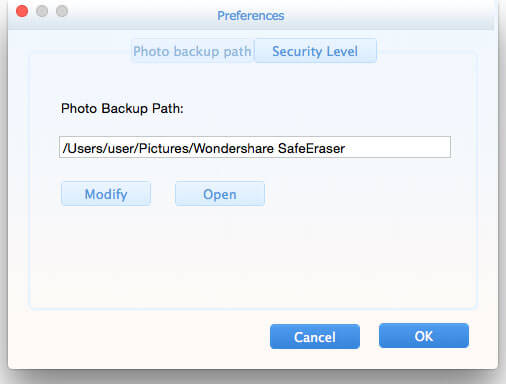 Wondershare SafeEraser for Mac Screenshot 7