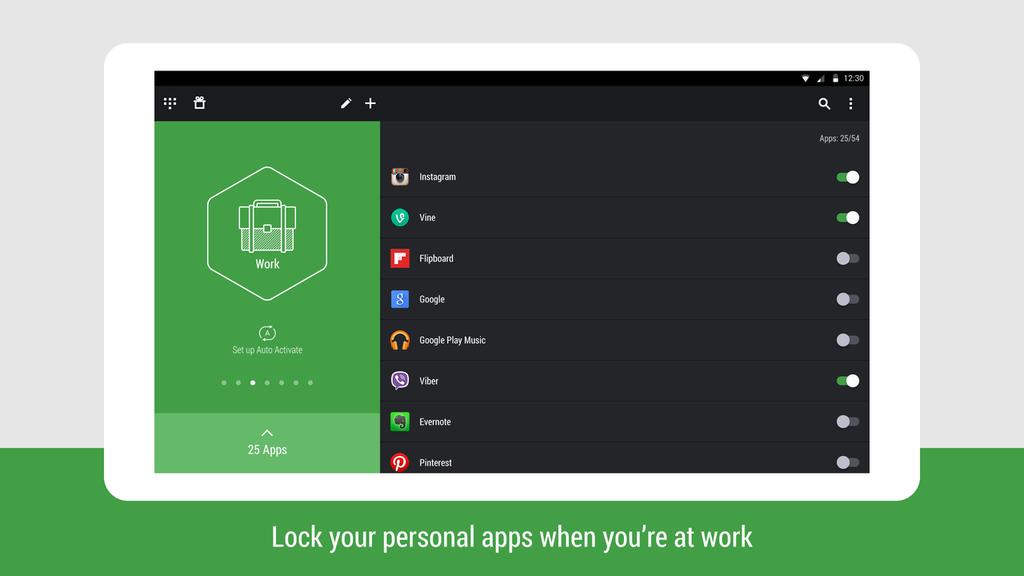 Hexlock - App Lock Security Screenshot 2