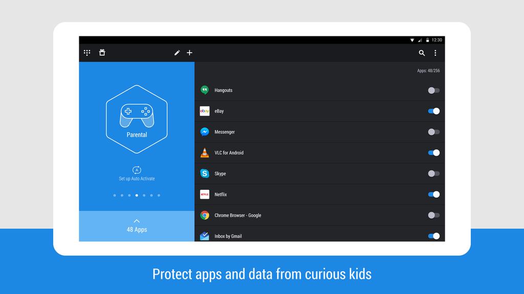 Hexlock - App Lock Security Screenshot 3