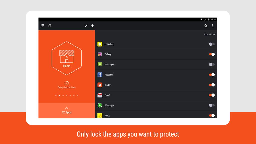 Hexlock - App Lock Security Screenshot