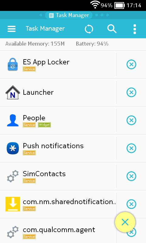 ES Task Manager Screenshot 2