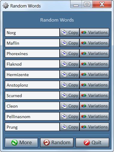 Download Random Word Generator 28 0
