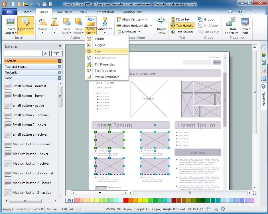 ConceptDraw  PRO Screenshot 8