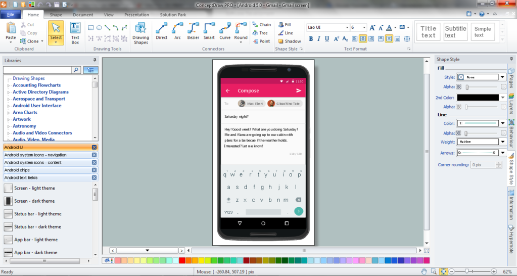 ConceptDraw  PRO Screenshot 5