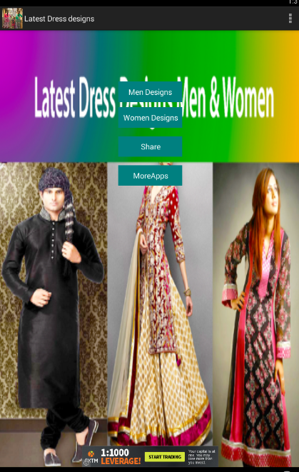 Latest Dress Designs Men Women Screenshot 1