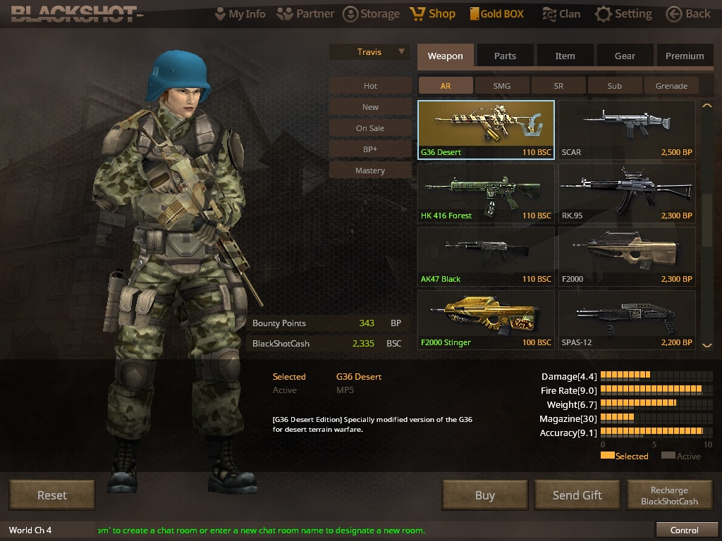 BlackShot Global Screenshot 1