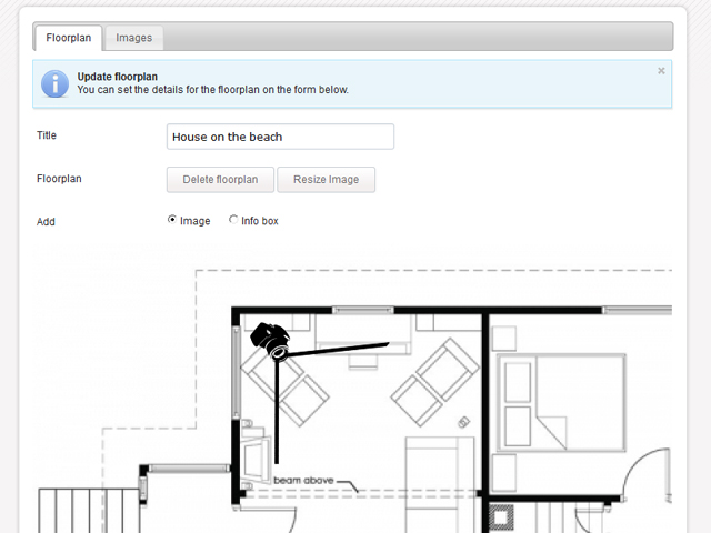 Interactive floor plans free gurus floor for Interactive floor plan software