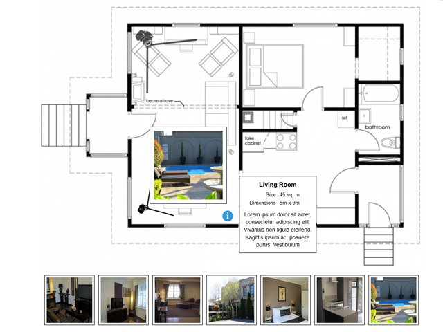Interactive Floor Plan Software Screenshot 2