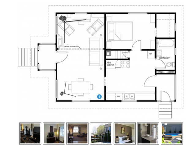 Interactive Floor Plan Software Screenshot 1
