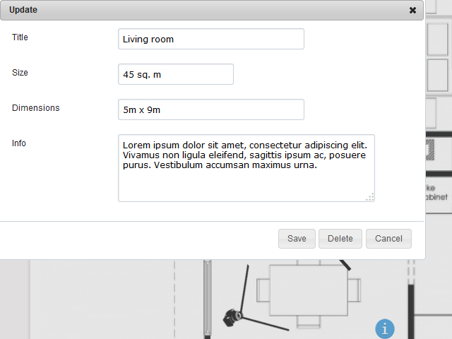 Interactive Floor Plan Software Screenshot 5