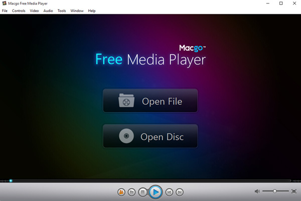 Macgo Free Media Player Screenshot