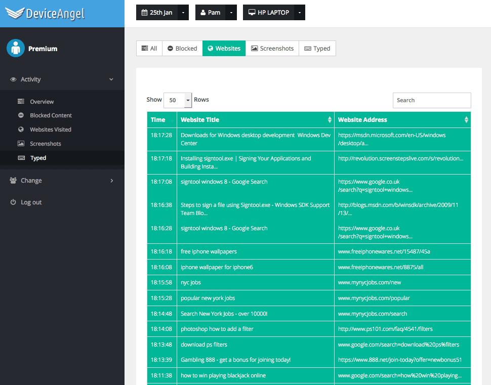 DeviceAngel Screenshot 8