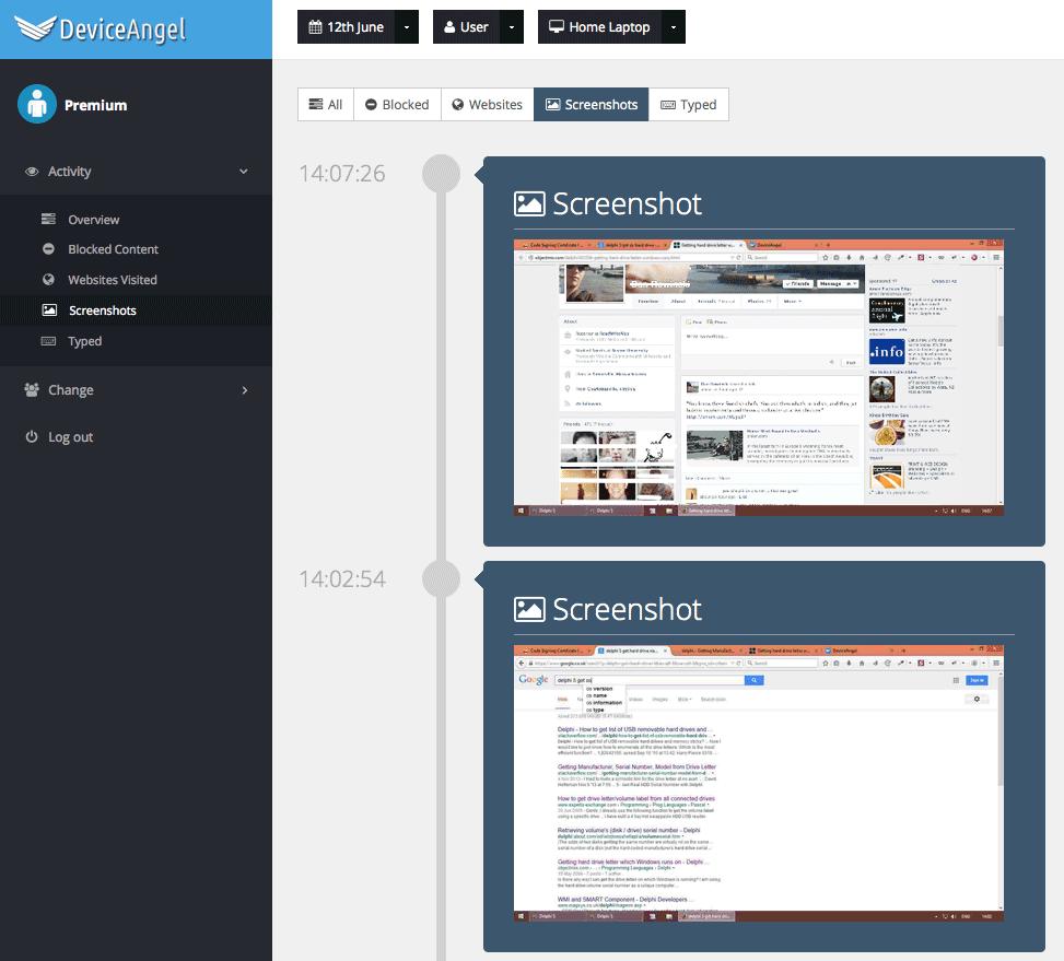 DeviceAngel Screenshot 7