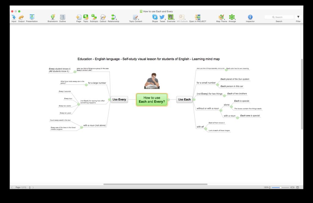 ConceptDraw MINDMAP Screenshot 6