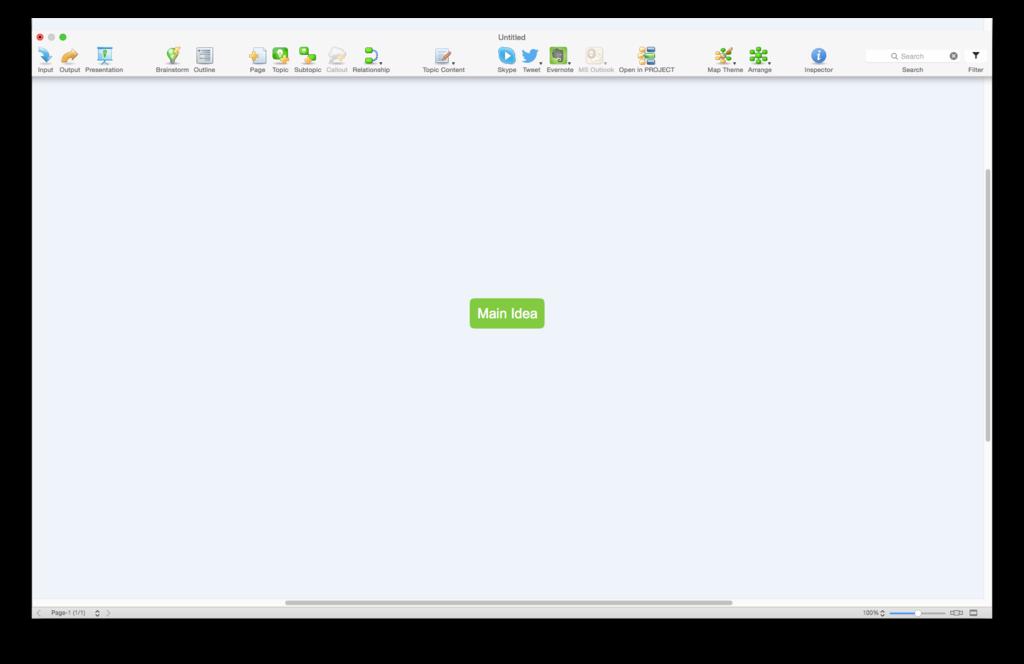 ConceptDraw MINDMAP Screenshot 5