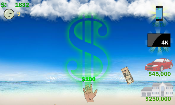 Raining Money Screenshot 2