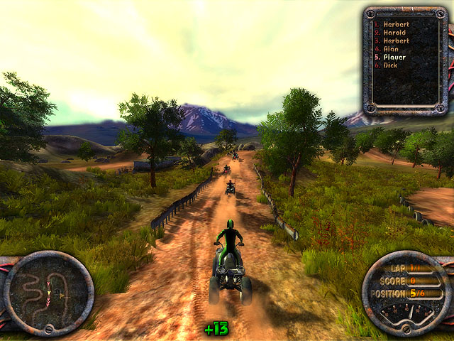 Quad Motorbike Challenge Screenshot