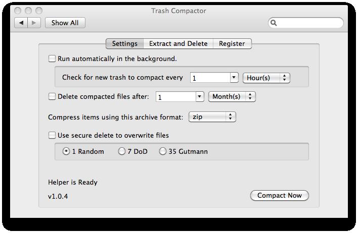 Trash Compactor Screenshot 1