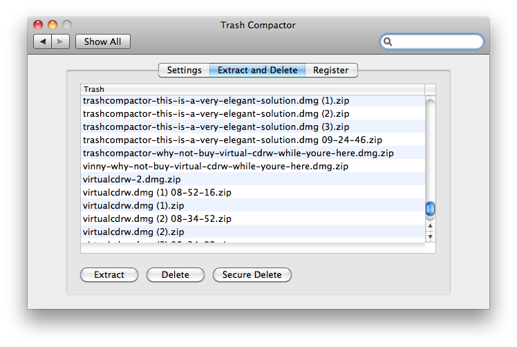 Trash Compactor Screenshot 2