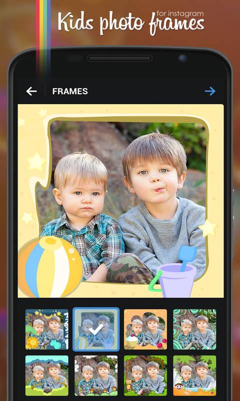 Kids Photo Frames Screenshot