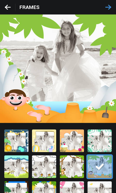 Kids Photo Frames Screenshot 2
