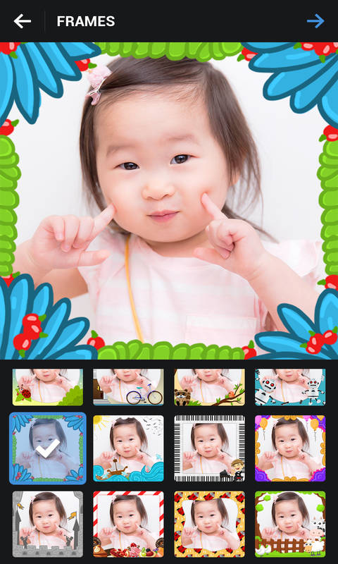 Kids Photo Frames Screenshot 4