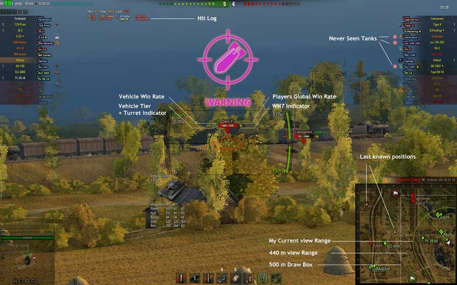 World Of Tanks Mod Pack Screenshot 1