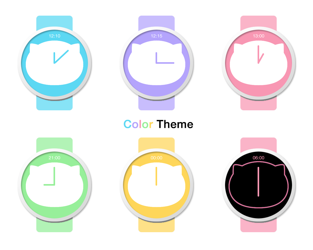 Meo Watch Face Screenshot 2