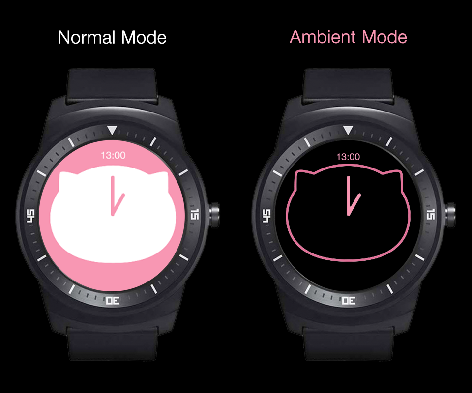 Meo Watch Face Screenshot 3