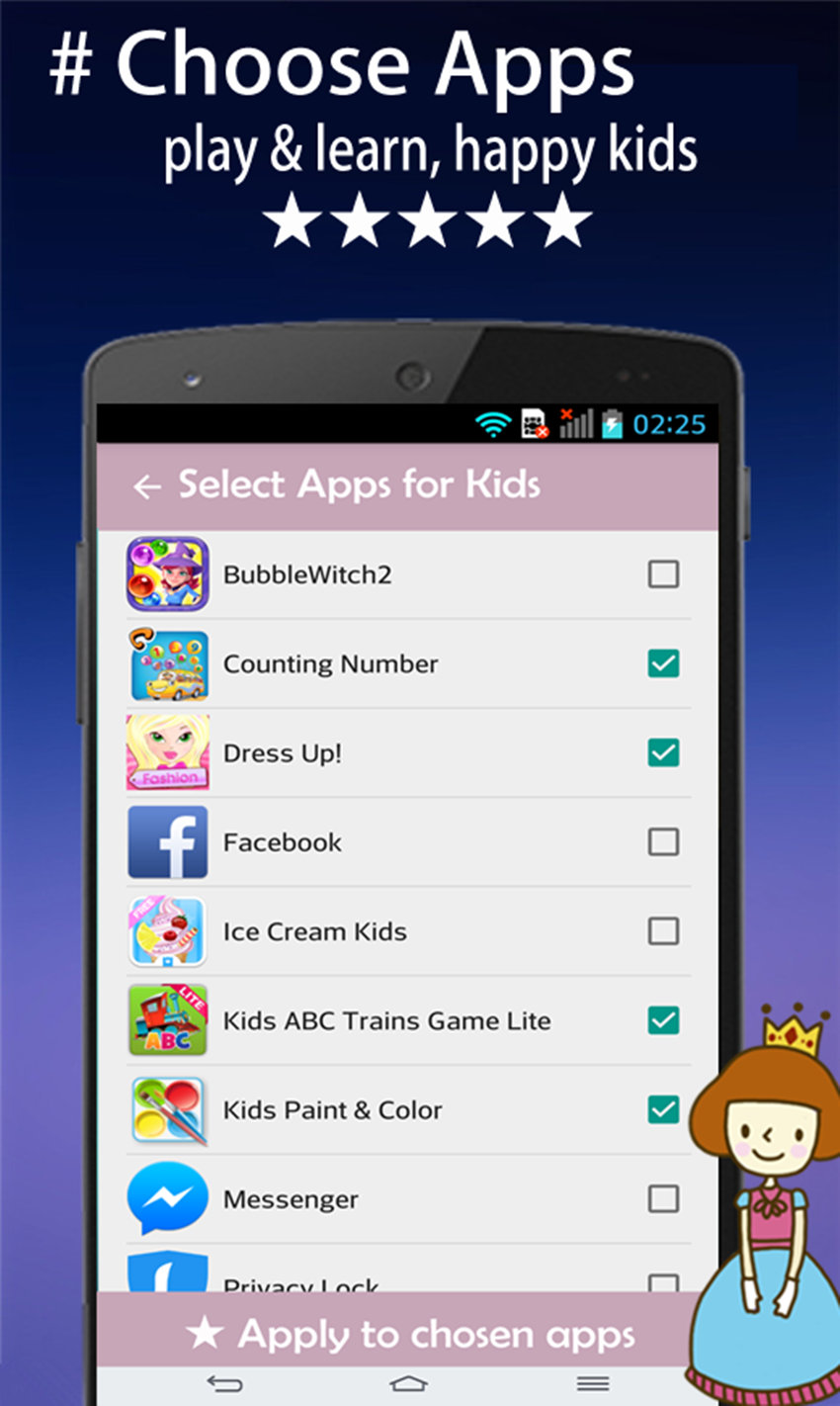 Kids Time AppLock Screenshot 2