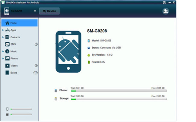 MobiKin Assistant for Android Screenshot 1