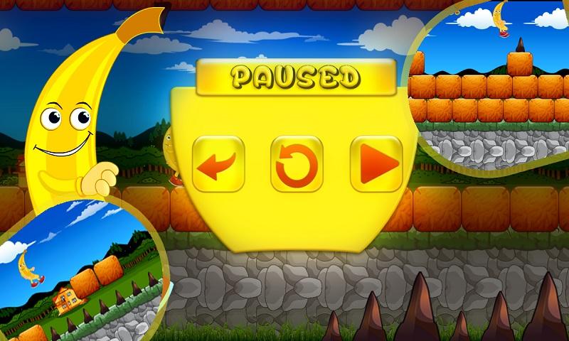 Rush Banana Run Kong pirates Screenshot 2