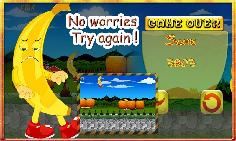 Rush Banana Run Kong pirates Screenshot