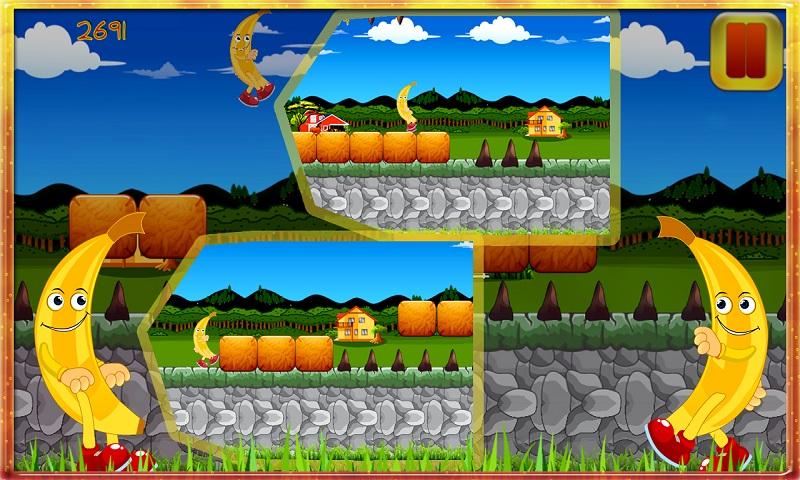 Rush Banana Run Kong pirates Screenshot 5