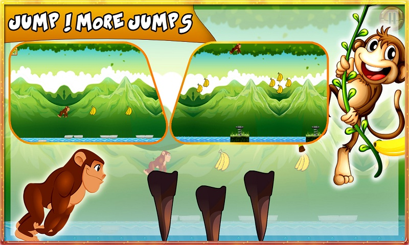 Bananas Island : Monkey Run Screenshot 4