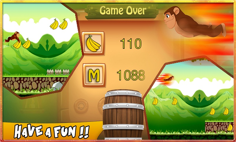 Bananas Island : Monkey Run Screenshot 3