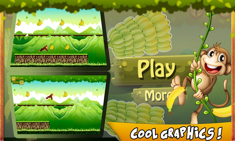 Bananas Island : Monkey Run Screenshot 1