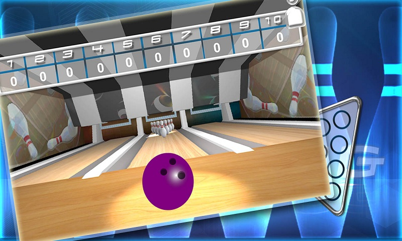 Ten pin bowling Real strike 3D Screenshot 4