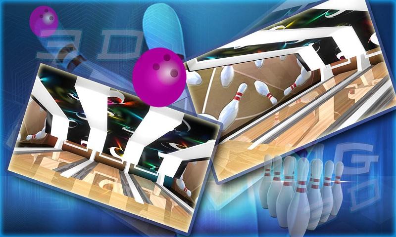 Ten pin bowling Real strike 3D Screenshot 2