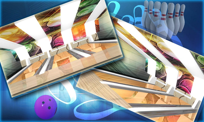 Ten pin bowling Real strike 3D Screenshot 3