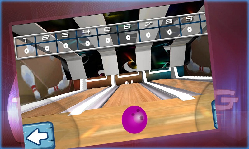Ten pin bowling Real strike 3D Screenshot