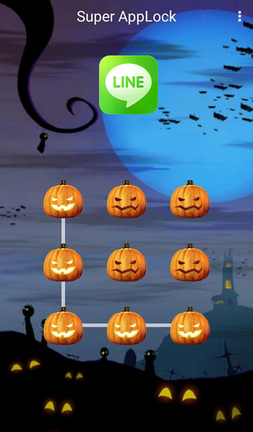AppLock Theme Halloween Screenshot 2