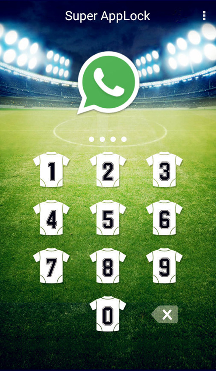 AppLock Theme Football Screenshot 2