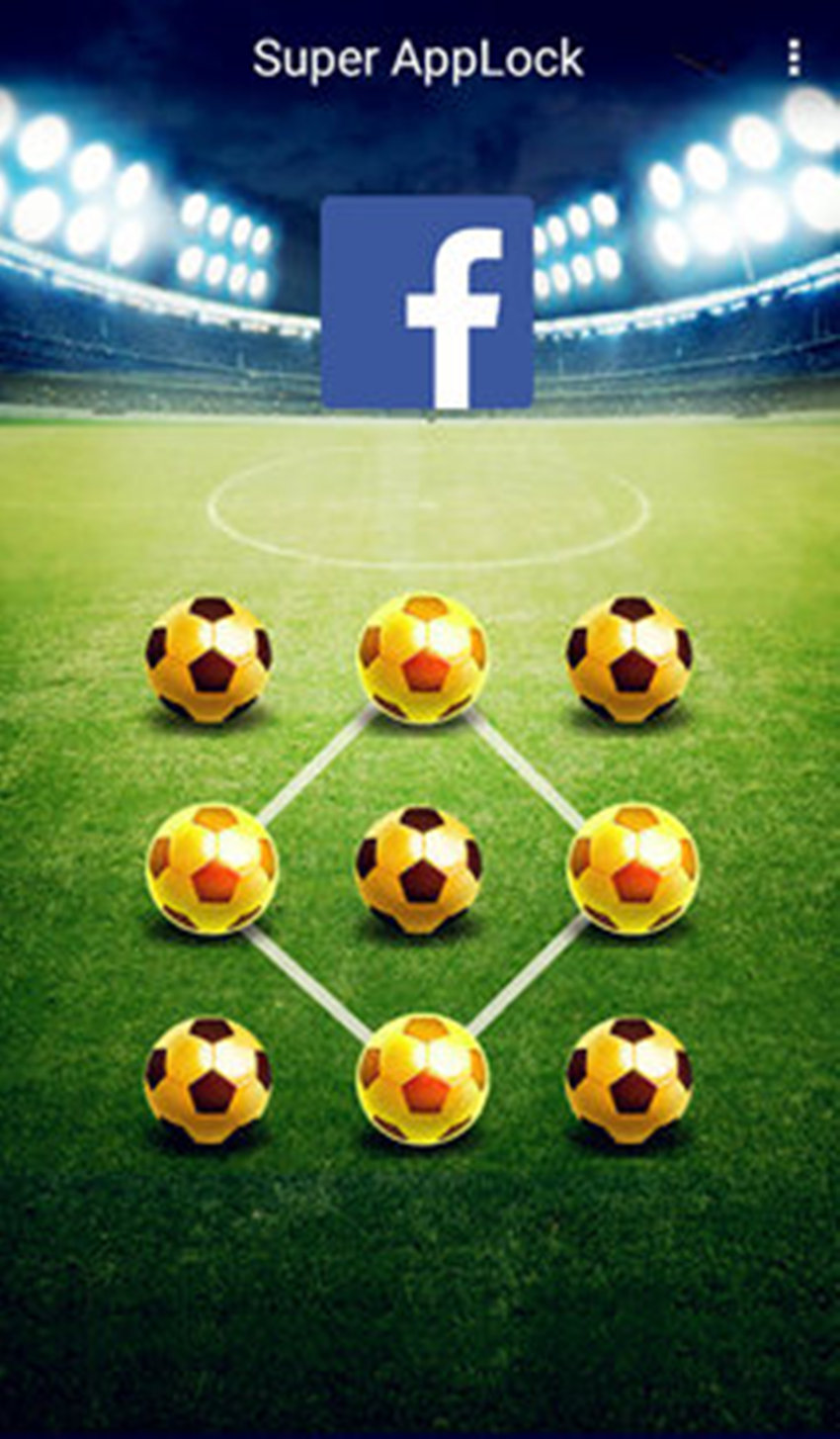 AppLock Theme Football Screenshot 1