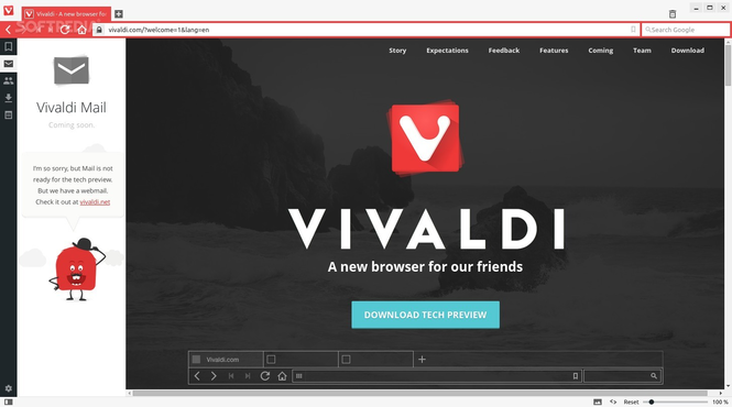 Vivaldi Screenshot 2